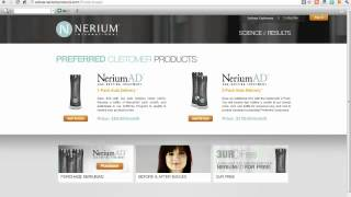 Nerium Preferred Customer SignUp Instructions