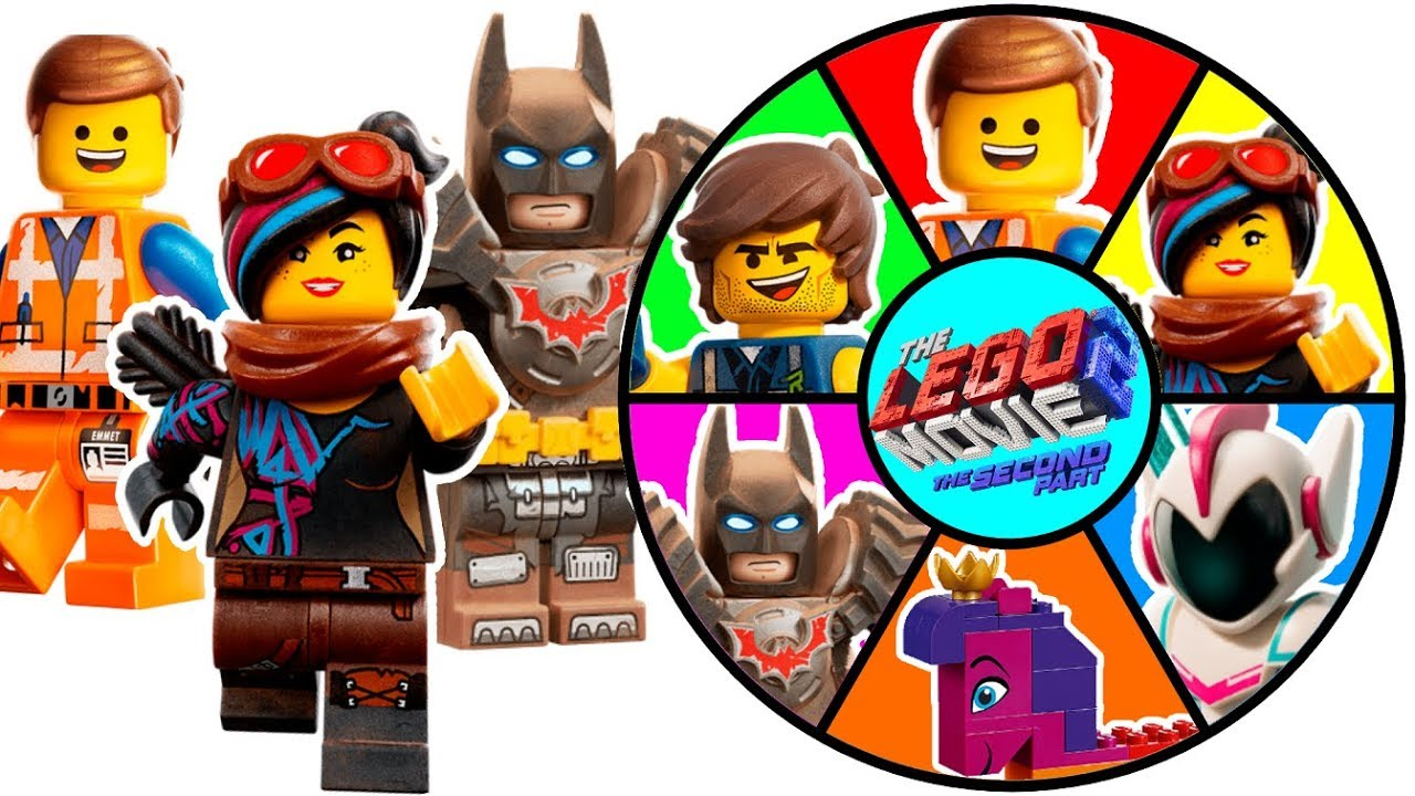 The Unikitty EmmetLucyBatman Movie 2 With Game And Lego Spin Wheel pGLzMUSVq