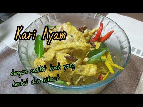 Kari Ayam|Kare Ayam from YouTube · Duration:  6 minutes 46 seconds