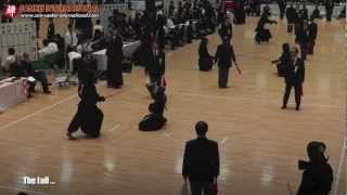 Kendo「剣道」- The scores, the falls, and the surprises [VID:20120603004]