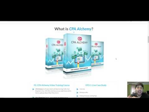 Cpa Alchemy Review 2017 - Watch This Video Before You Buy It