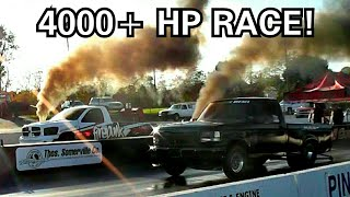 Fastest Diesel Trucks In The Country Drag Race !!