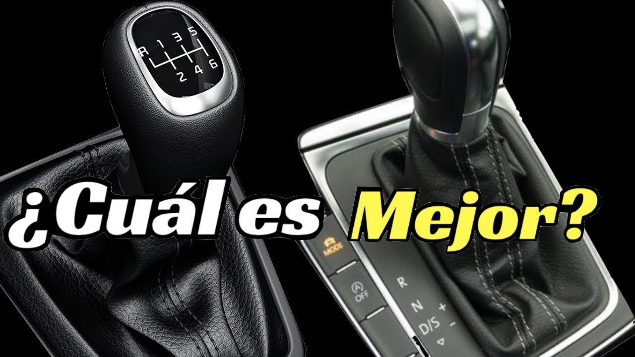Transmisión manual y automatica