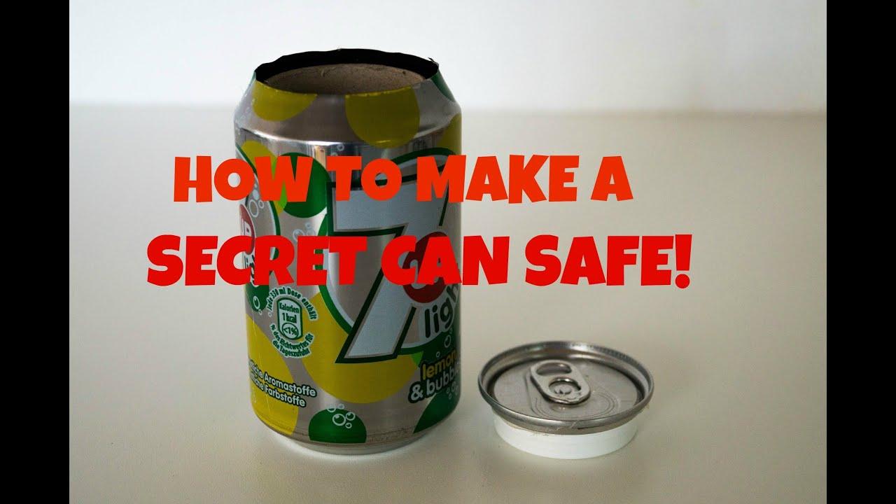 How To Make A Secret Soda Beer Safe Stash Items