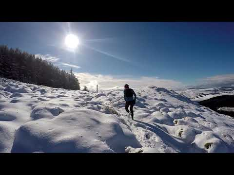 Winter Recce of the Glentress 42k & 21k Course