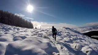 Winter Recce of the Glentress 42k & 21k Course