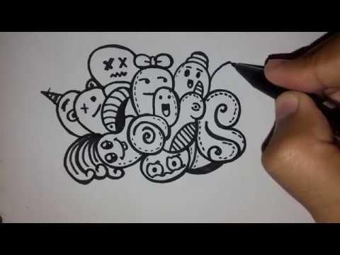 9500 Gambar Doodle Keren Yg Mudah Gratis Terbaik