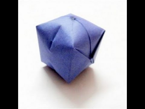 origami ball tutorial