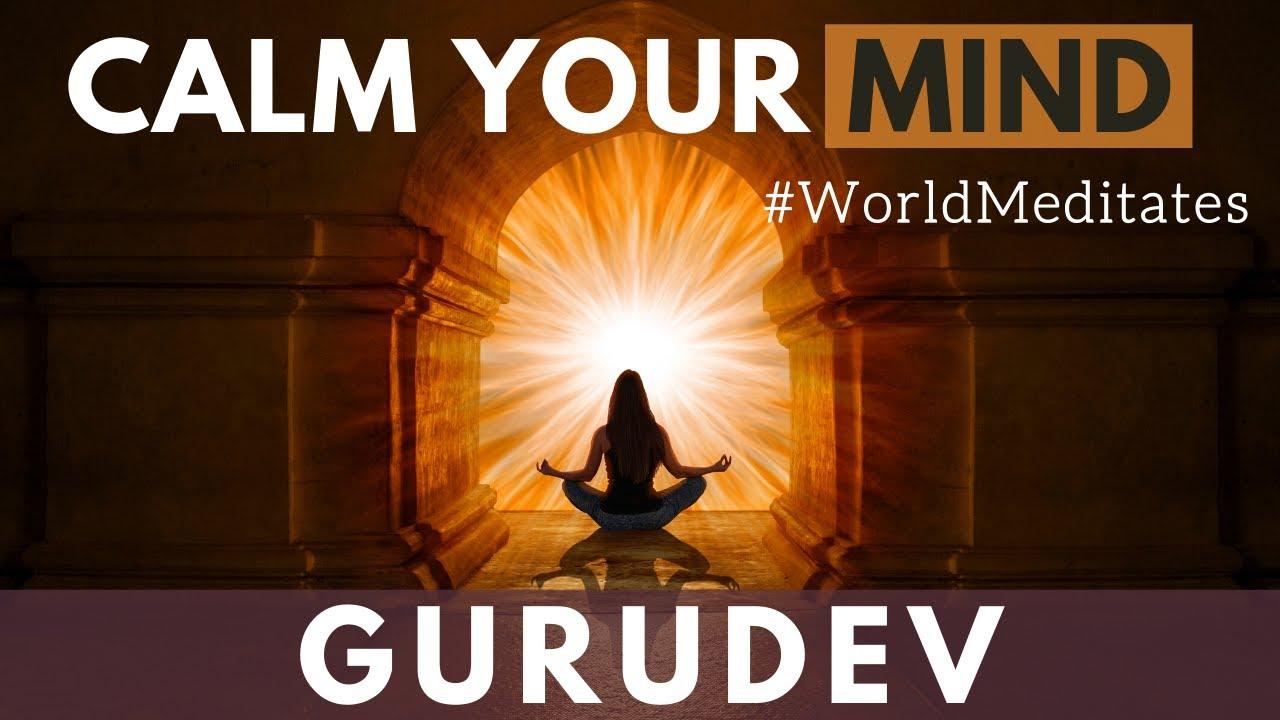 Guided Meditation for a Still Mind | Gurudev Sri Sri Ravi Shankar