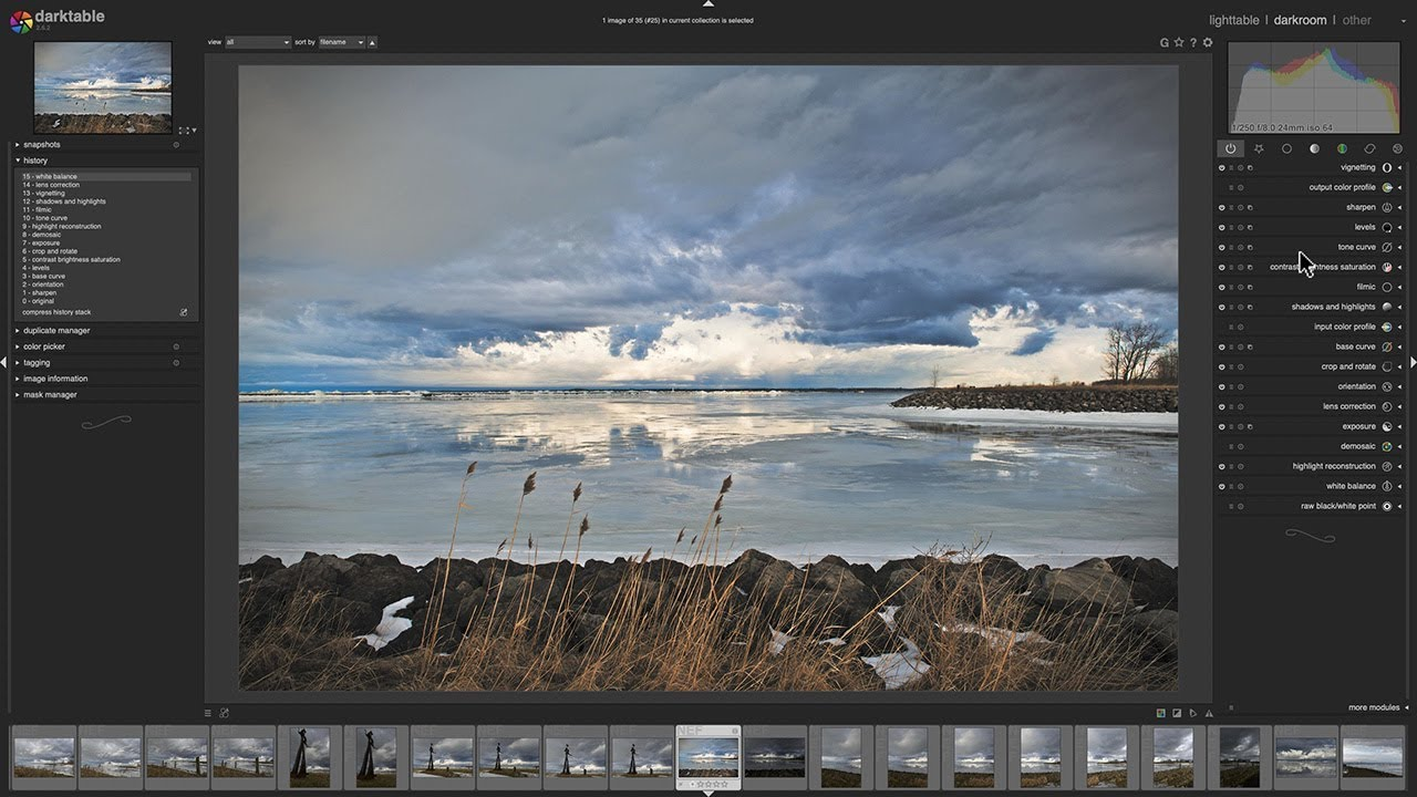 Darktable: A Totally Free Lightroom Alternative