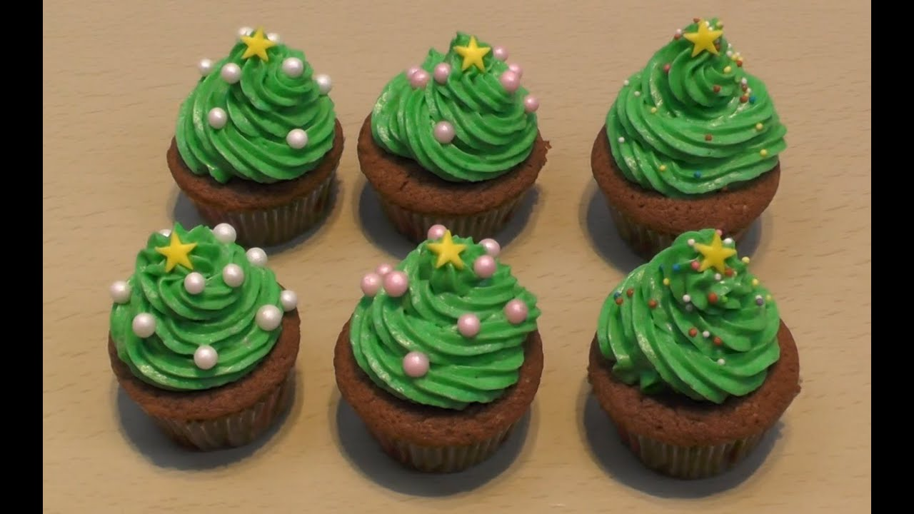 Muffin Tannenbaum.Tannenbaum Cupcakes Freaky Baking Ninnin