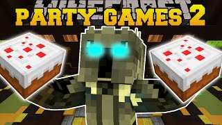 Minecraft: PARTY CHALLENGES 2 (ROCKET LAUCHING PIGS, CHICKEN RING RACE, & SUMO PUNCHING!) Mini-Game