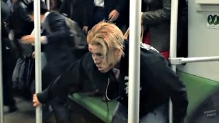 Subway Zombie Prank in Shanghai! (Social Experiment)