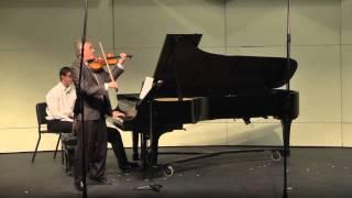 B. Bartók: Rhapsody No. 1 for Violin and Piano, BB 94a