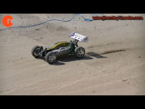 HSP Planet Brushless Testing at RC Track - Battery 1