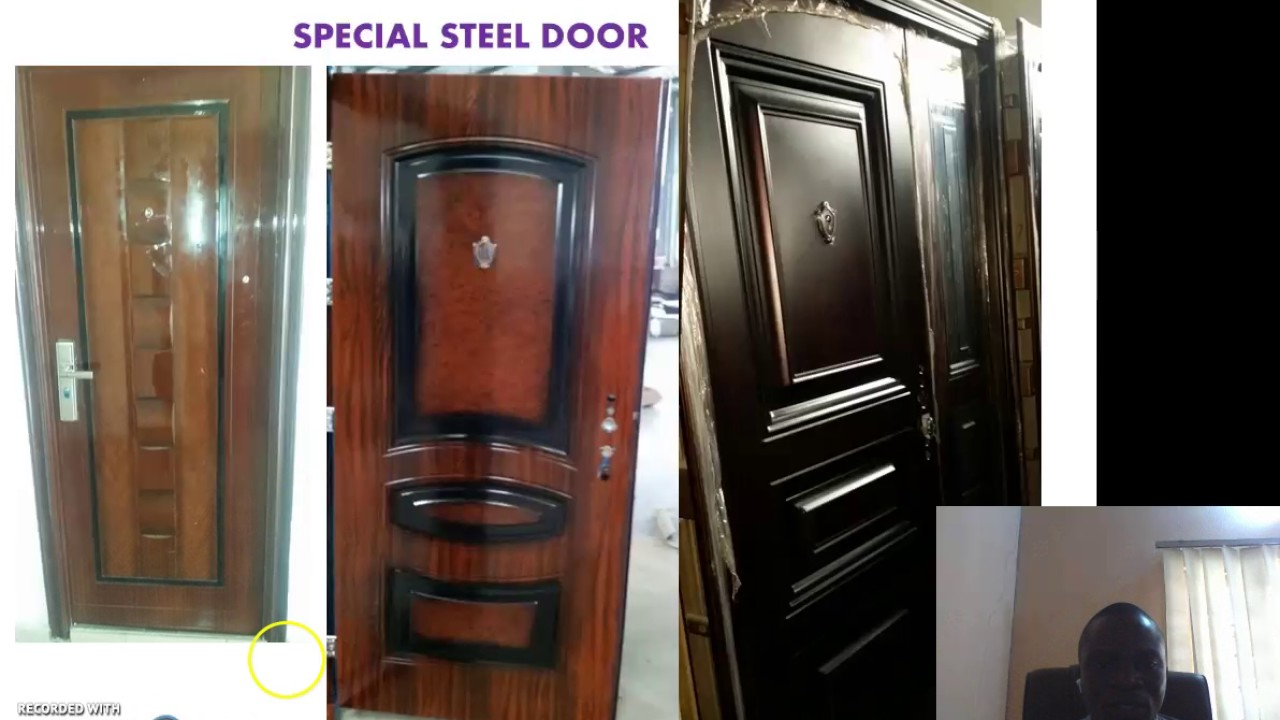 SECURITY IMPORTED DOORS IN NIGERIA & SECURITY IMPORTED DOORS IN NIGERIA - YouTube Pezcame.Com