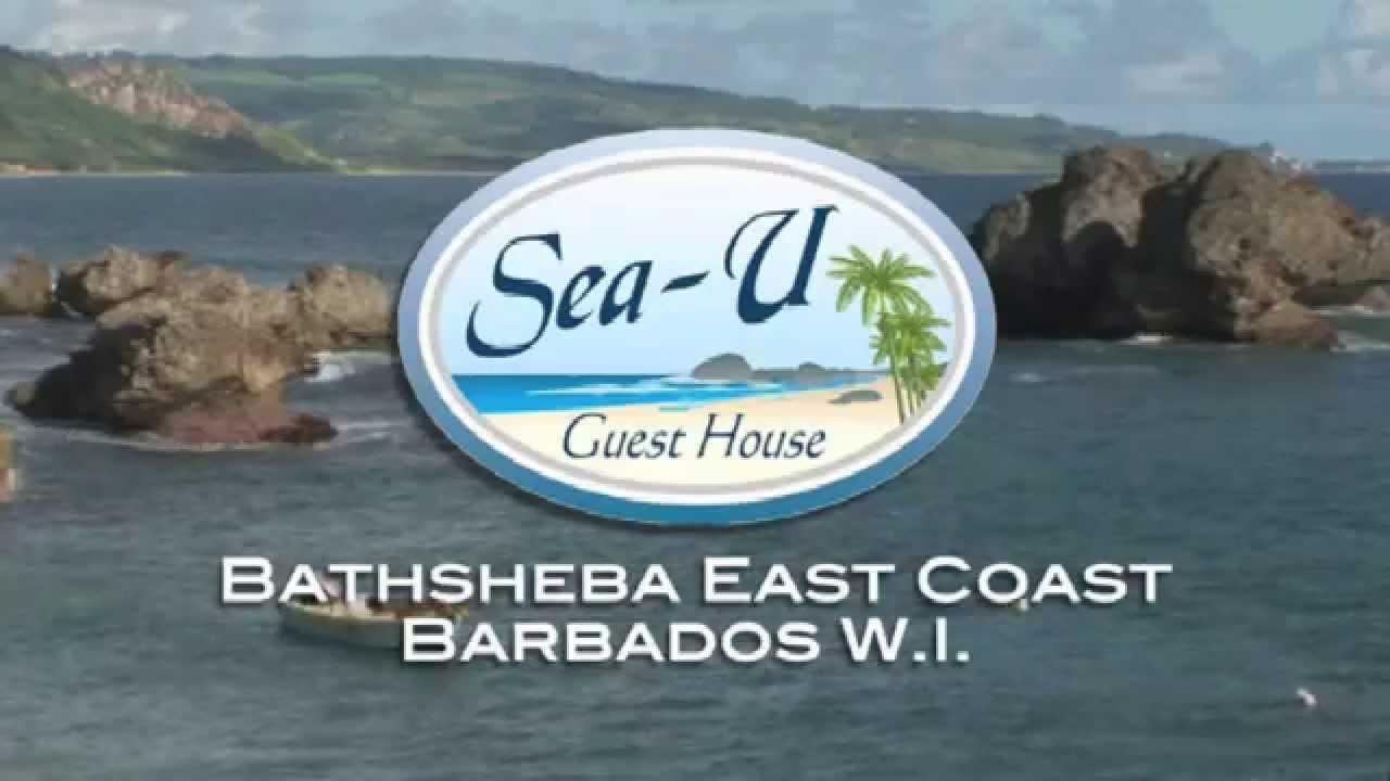 sea u guest house hotel video, bathsheba barbados - youtube