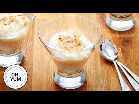 how-to-make-the-creamiest-rice-pudding!