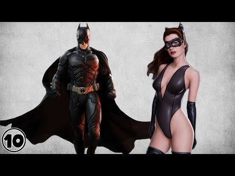 Top 10 Superheroes With Hot Girlfriends - Part 2