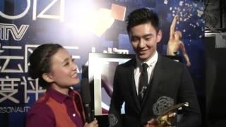 【2014CCTV体坛风云人物年度最佳男运动员】宁泽涛台下采访 Ning Zetao