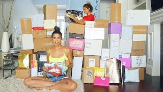 BIGGEST PR UNBOXING EVER!! | HUGE AMOUNT OF FREE MAKEUP | LAURA LEE