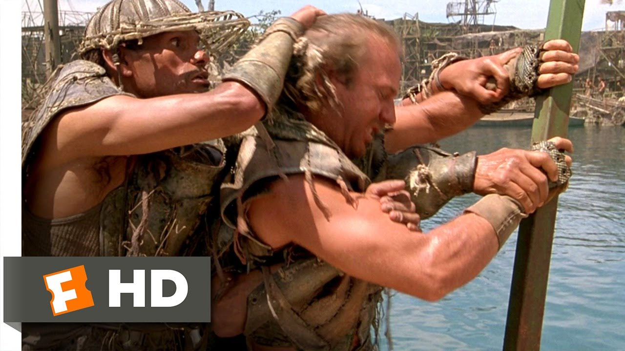 Download Waterworld (2/10) Movie CLIP - He's a Mutant! (1995) HD