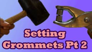 Setting Grommets with Pliers or Hammer | Lucy's Corsetry
