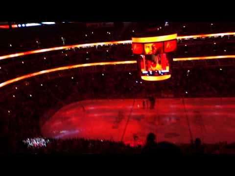 Intro Chicago Blackhawks - Colombus Blue Jackets NHL 2015