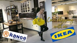 COME SHOPPING WITH ME, THE RANGE AND IKEA | Vlog Oct 11th 2018