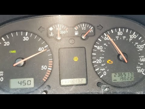 Volkswagen Golf GLS TDI MKIV - 0 to 60 Time - Acceleration