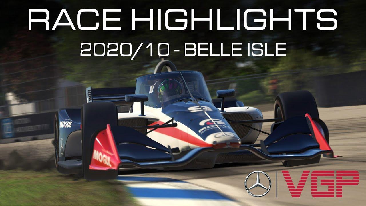 Video: Mercedes-Benz Virtual GP 2020 Belle Isle Highlights
