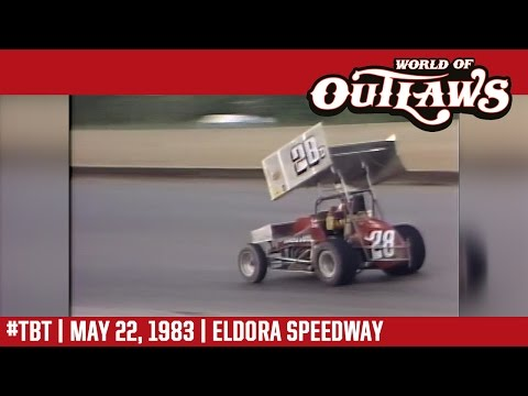 #ThrowbackThursday: World of Outlaws Craftsman Sprint Cars Eldora Speedway May 22, 1983