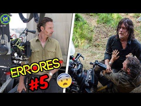7 Errores que NO Conocías de The Walking Dead (Parte 5) | ElJemf