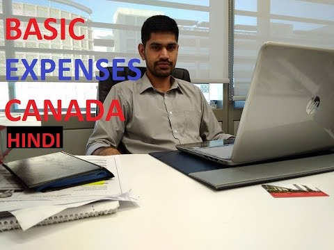 All Expenses Of Living In Canada HINDI/URDU