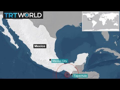 Breaking News: Magnitude 8 earthquake hits off Mexico coast