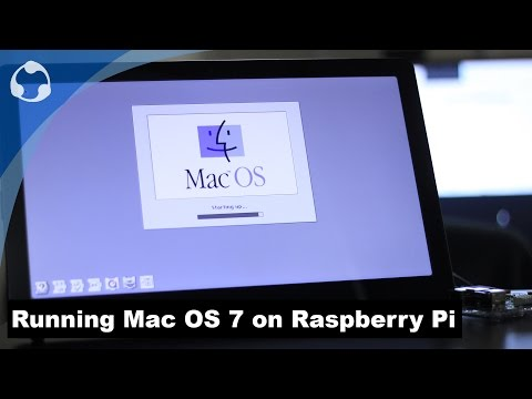 Running Mac OS 7 on Raspberry Pi with COLOR - YouTube