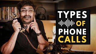 TYPES OF PHONE CALLS TO A WEDDING PHOTOGRAPHER