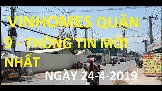 Cập Nhật Thông Tin Mới Nhất Về Vinhomes ( vincity) quận 9 - Nhà Phố, Biệt Thự, Căn Hộ