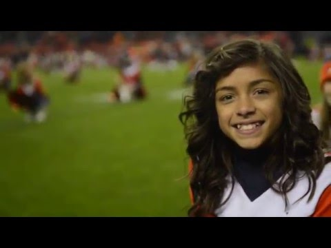 The Denver Broncos Junior Cheerleaders: Lil