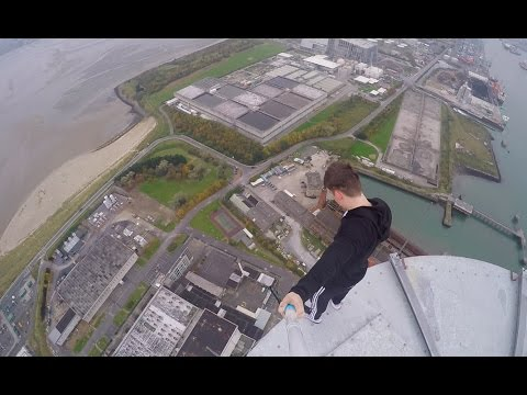 207m Chimney Climb | Dublin, Ireland