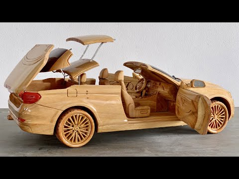 Wood Carving – BMW 420i Convertibles – Woodworking Art