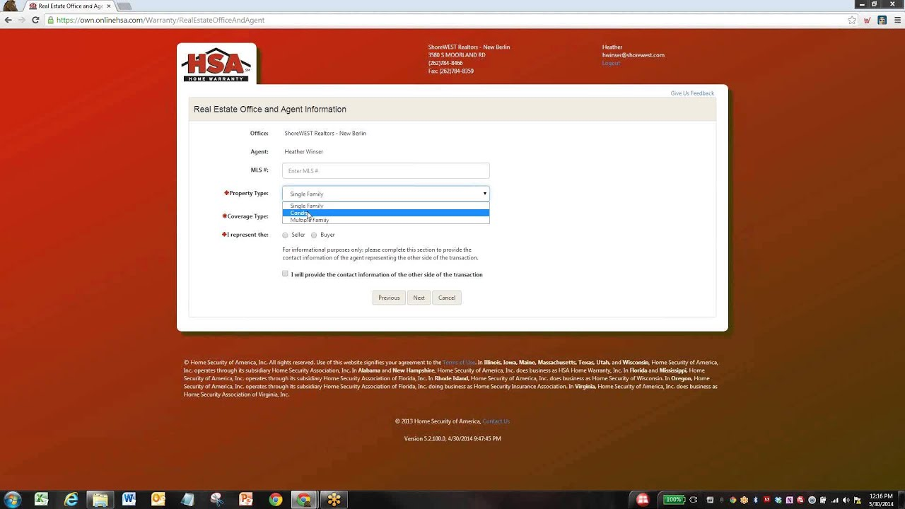 How To Enroll a Warranty line in OWN