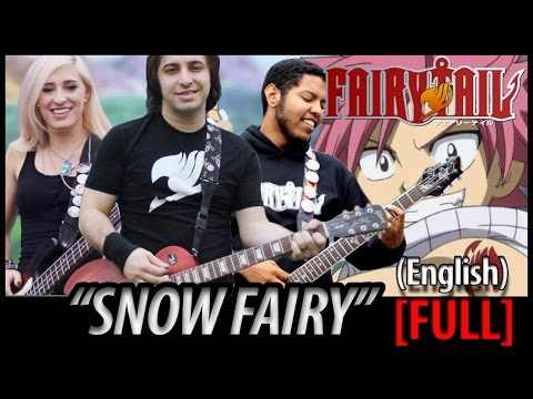 Fairy Tail Opening 1  Snow Fairy FULL English Dub