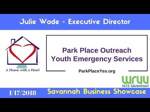 Julie Wade of Park Place Outreach - Savannah Business Showcase