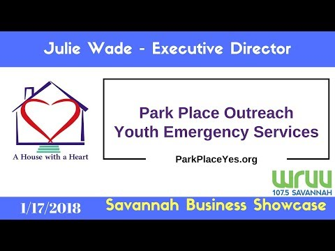 Julie Wade of Park Place Outreach - Savannah Business Showcase