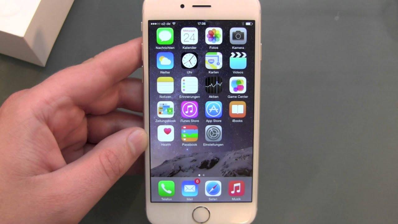 Iphone S Einrichten