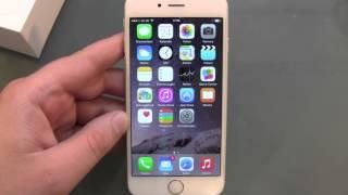 iPhone 6 einrichten und erster Eindruck