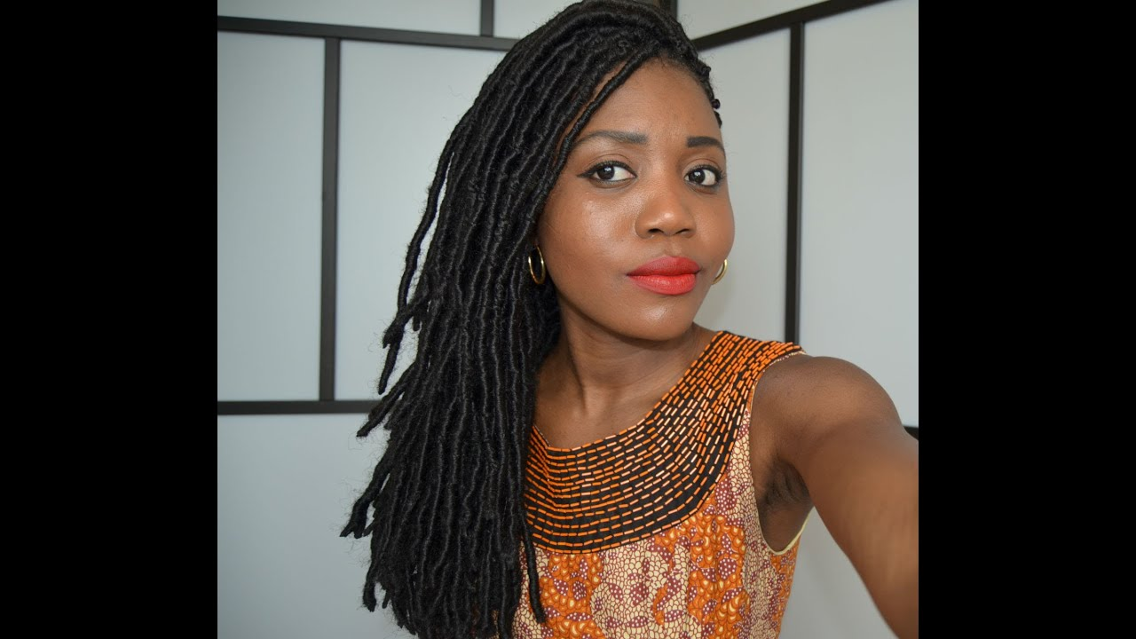 Faux Locs Tutorial With Marley Hair Dreadlock Extentions Protective