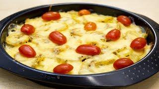 Французский картофель гратен -   подойдёт для семейного или праздничного ужина