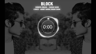 BLOCK| PROMO | TARAN SAINI | Latest Punjabi Song 2018 |